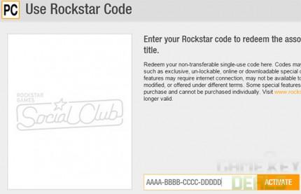 rockstar activation code gta 5 online